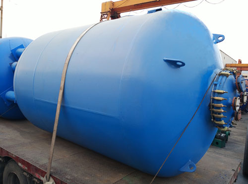F Type Vertical Glass Lined Storage Tank